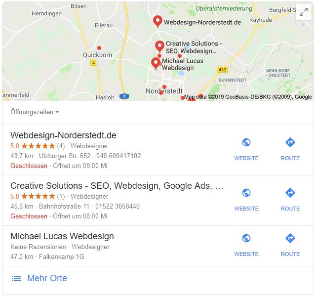 Google Mapss - Creative Solutions